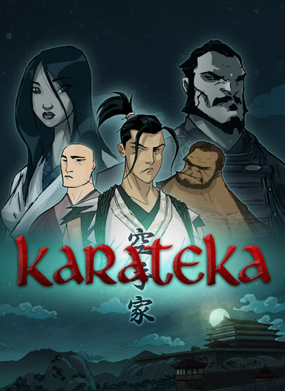 Karateka Cover Art